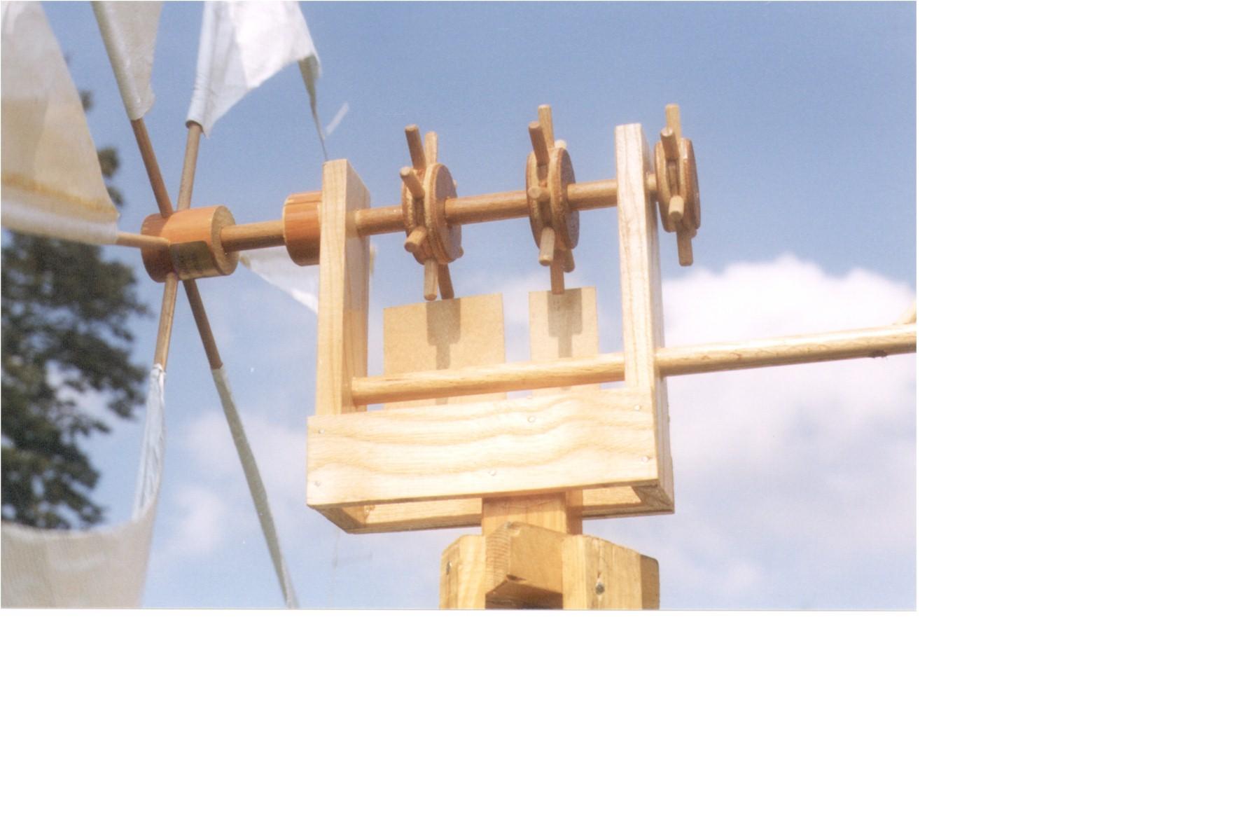 Exemples de moulins - Fabriquer moulin a vent de jardin ...